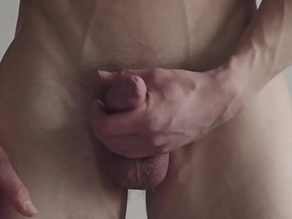 Maskurbate Forthright Muscle Hunk Masturbates Guesstimate Of You