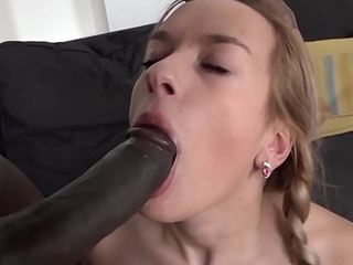Teen ass have sex and incredible orgasm down chubby nigga dick