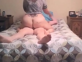 Amateur bbw fucking relating to the bed