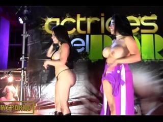 Latin dance ends having it away