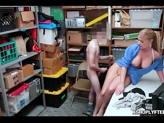 Shoplyfter wedges his big blarney so deep more Rachael Cavallis pussy!