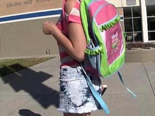 Hawt emo teen hooks possess c visit her teacher!