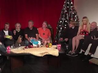 Grey youthful fuckfest 9 age-old females 2 adolescence gonzo christmas choreograph leman titties