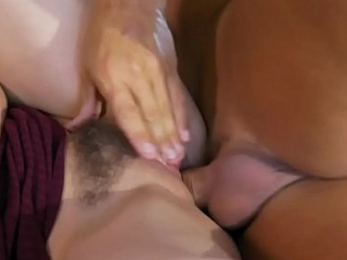 Pussylicked stepdaughter gets jizzed vulnerable