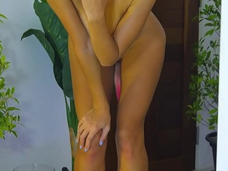 Nude dance enervating fox tail and heels