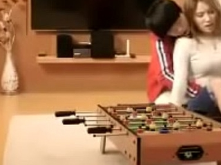 Asian screwed by her young sibling