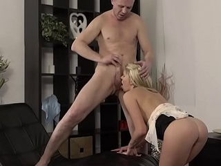 OLD4K. Regimen playgirl nicely rides lover'_s dick relating to old and youthful video