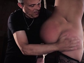 Suitability piece of baggage bondage in sex dungeon suffers kinky bdsm