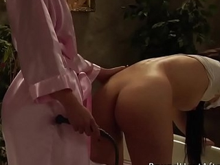 Appreciation and Pain: Live-in lover Masturbation And Slave Whipping