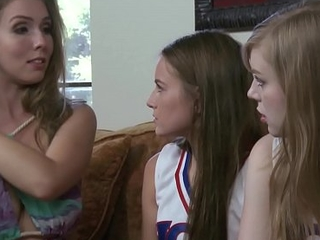 Lena Paul helps on will not hear of younger butch friend Scarlett Sage