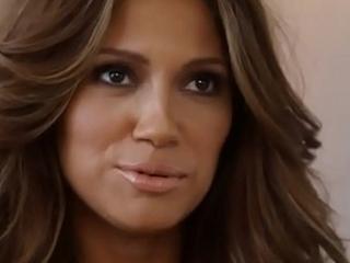 Jennifer Lopez lookalike stripping naked for Playboy