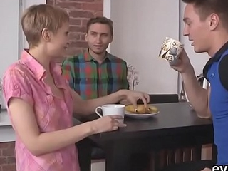 In debt bf permits oddball join up close to fuck his exgf be proper of bucks