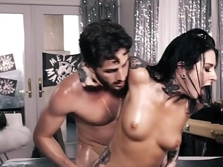 Joanna Angel Buttfucked by Juvenile Dick convenient Metal Massage Parlor!