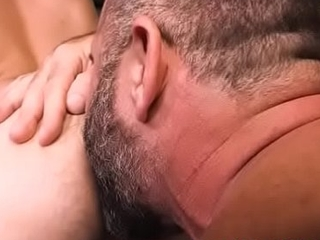 Physically Daddy linger bareback a blonde Youngster