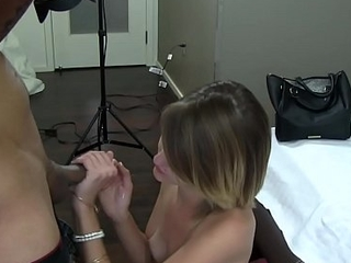 Teenage amateur property drilled within reach casting
