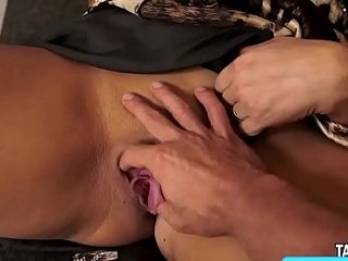 a lusty bimbo with amazing curves getting screwed hard