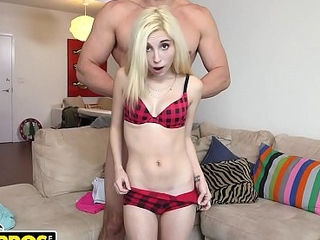 BANGBROS - Teeny Tiny Piper Perri Gets Her Snatch Battered By J-Mac