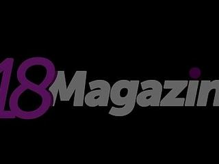 Eighteen Magazine - Nastya Girl Poses More than Margin Topless!