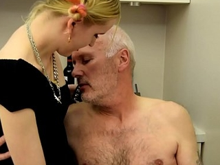 Ulf Larsen caught wanking &amp_ punished!
