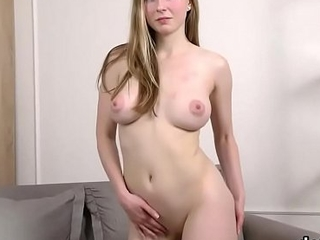 Unsophisticated cutie opens up slim love tunnel with the addition of gets deflowered