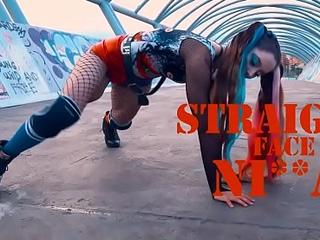 Amazing Harley Quinn Twerk Video