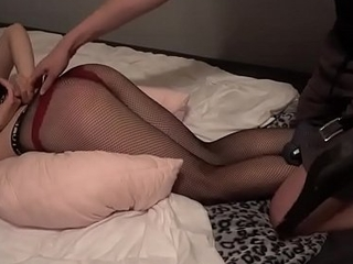 GIRL SPANKED All over A BELT WHILE SHE WEARS A Anal intercourse