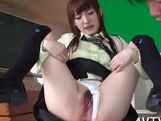 Japanese mother i'_d have a fondness to fuck enjoys naughty bawdy cleft toying and pinpointing