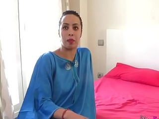 Muslim lassie Nayara is back less us '_cause she wants hither disgust drilled by an even bigger cock