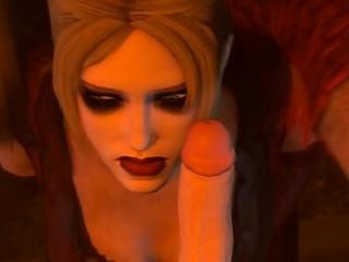 Gambol Harley Quinn Sucks Sick BDSM