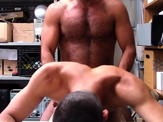 Straight Latino Lad Shoplifter Blackmailed And Fucked By Blissful Muscle Adhere to Security Bureaucrat