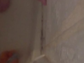 Young pauper uses 8&rdquo_ dildo in the shower