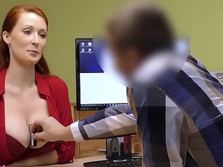 LOAN4K. Conformity porn of Isabella Lui who hypnotizes manager with tits