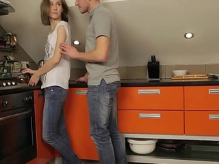 Minority Analyzed - Foremost assfuck coition Serpente Edita in the pantry