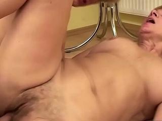 Lusty adult bimbo gets fucked hard